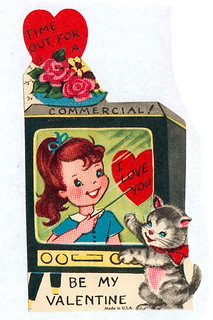 Vintage Valentine: Time out for a commercial! | by pageofbats