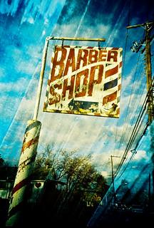 Barber Shop Golden Hour