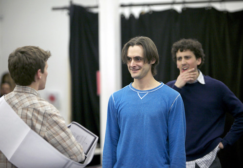 "Rehearsal - Yale Rep's ""Romeo & Juliet"" 