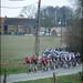 chasing peloton