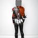 Lady Leeloo's Pheonix Armor Back