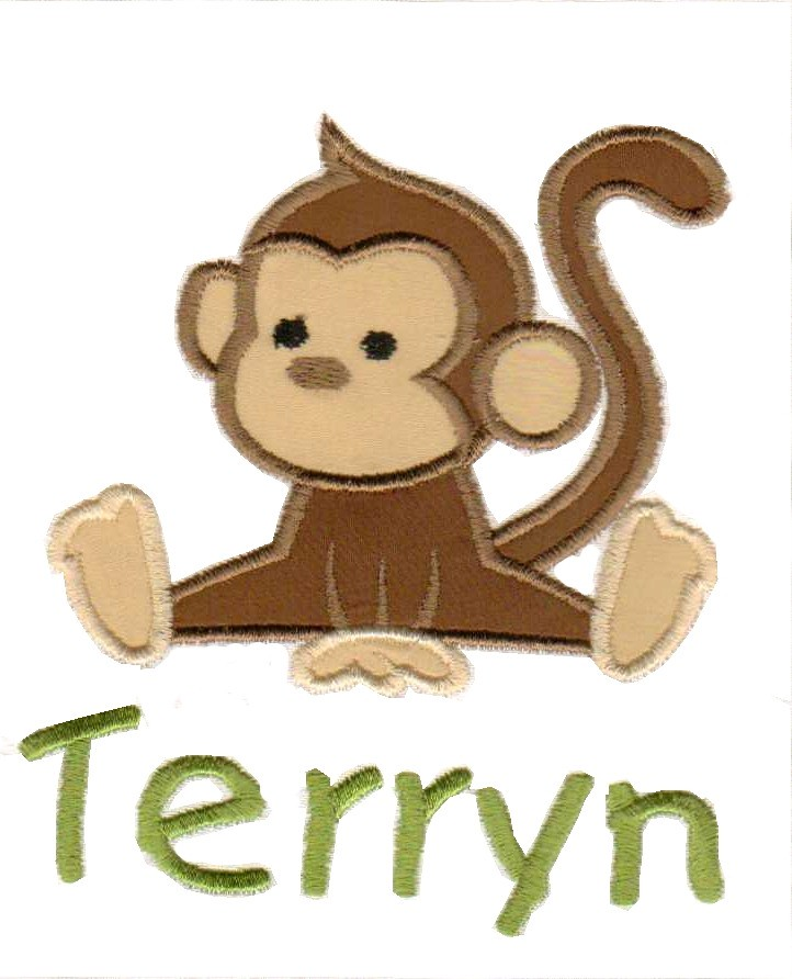 Monkey Machine Embroidery Design | Please Visit Www.etsy.comu2026 | Flickr