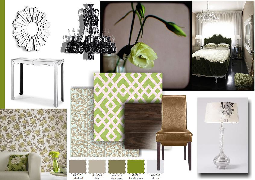 Created on presents a for Interior design moodboard