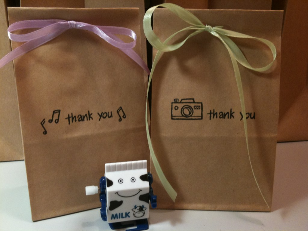Small Wedding Gift Bags: Wedding Thank You Gift Bags
