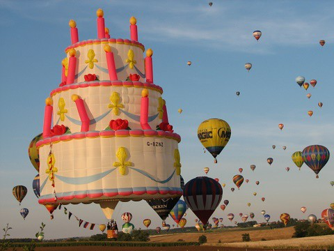 Hot Air Balloon Cake Pan