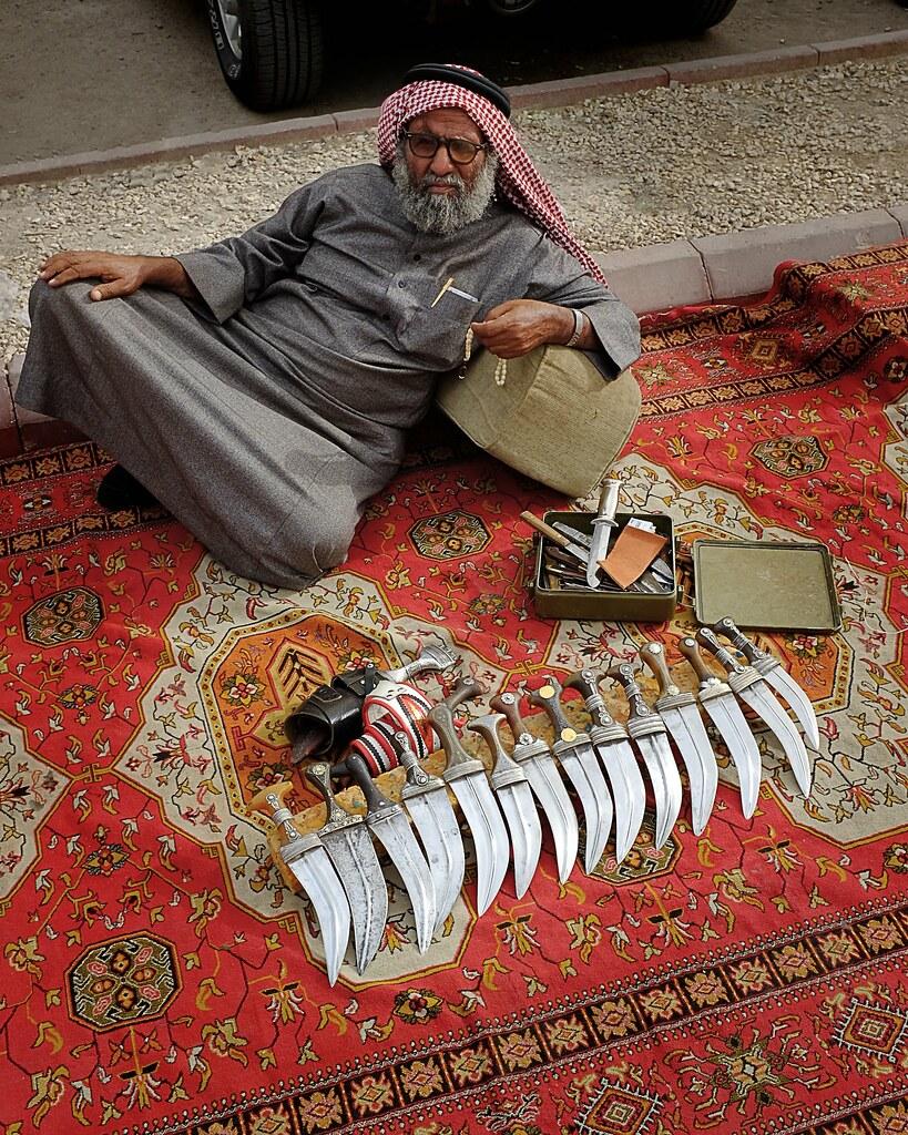 160321 23 Riyadh Old Town Trader | Old Trader Selling Tradit… | Flickr