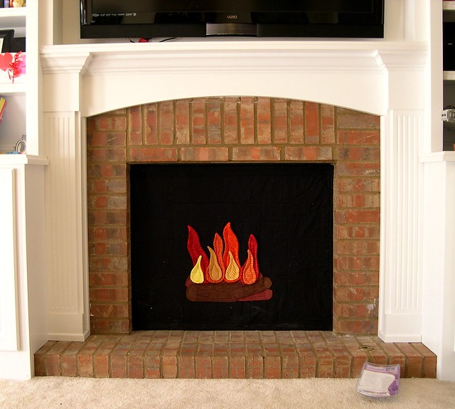 my new fireplace cover flickr photo