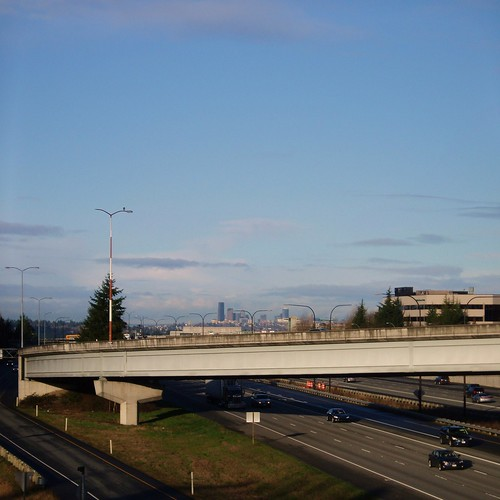 Seattle Skyline from Eastgate - Bellevue WA | by KurtClark
