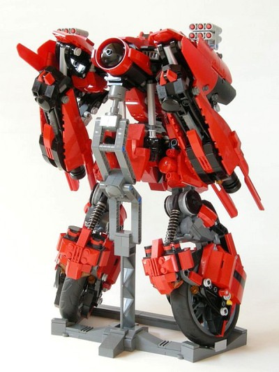 how to make a lego mech youtube