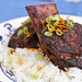 short ribs with cranberry-teriyaki glaze