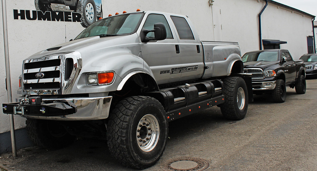 Ford Vs Dodge >> Ford F-650 VS. Lifted Dodge Ram | Ford F-650 Super Truck VS.… | Flickr