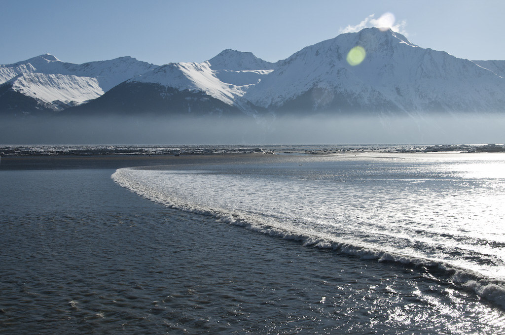 Turnagain Arm Bore Tide The Bore Tide In Turnagain Arm