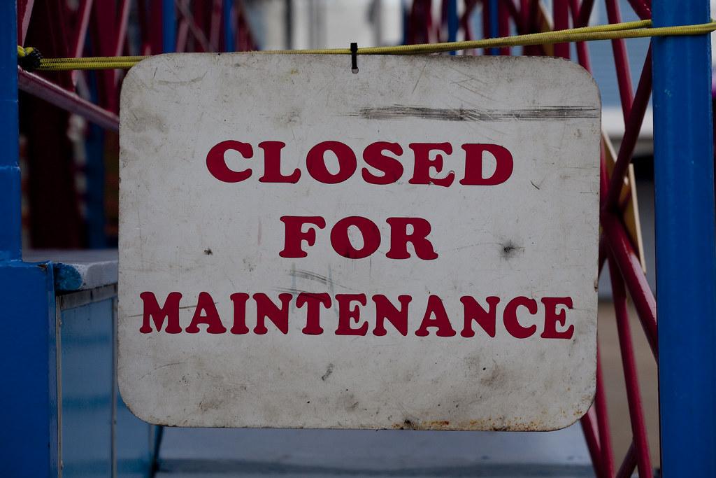 Closed For Maintenance | Mark Hooper | Flickr