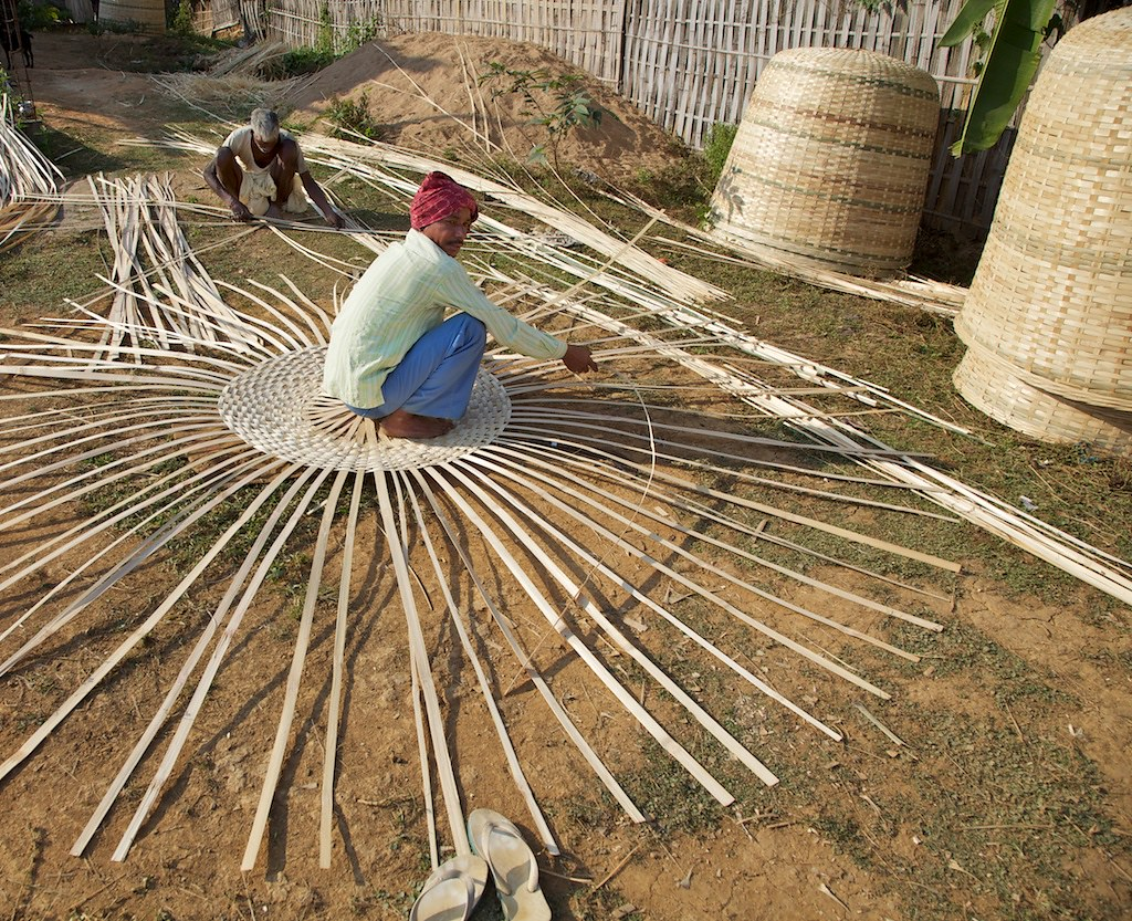 Basket Weaving Assam India Basket Making Assam India