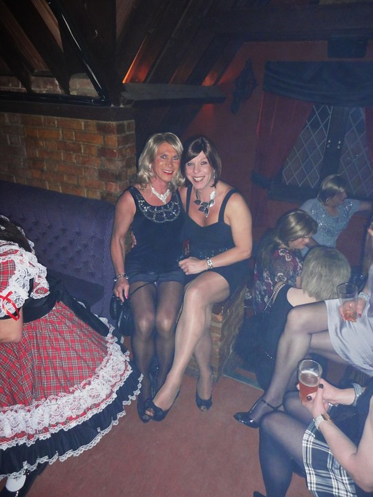 With The Lovely Helen Essex A Fabulous Night Out At The