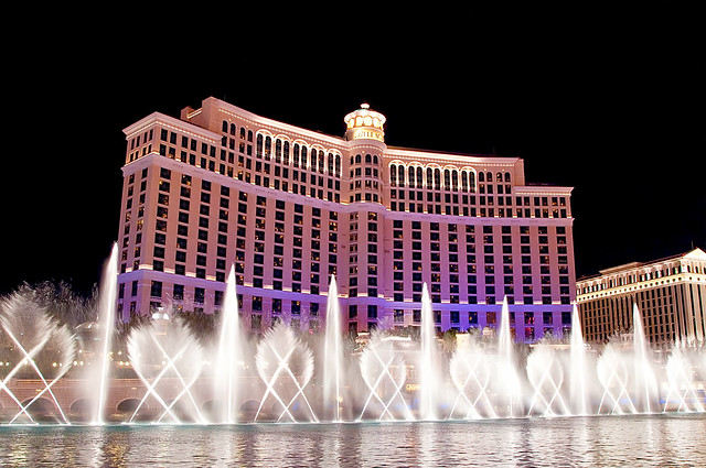 Fountains of bellagio flickr photo sharing for Garden statues las vegas nv
