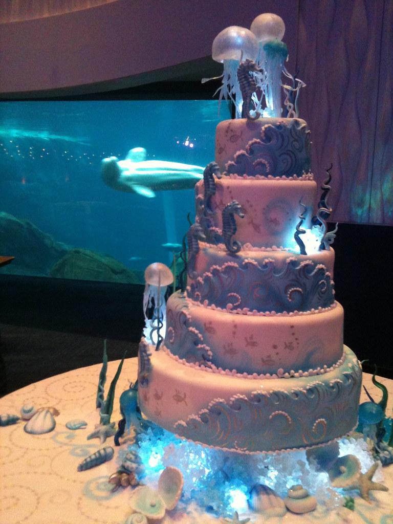 Beluga Wedding Cake