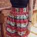 Andy Warhol Soup Cans skirt