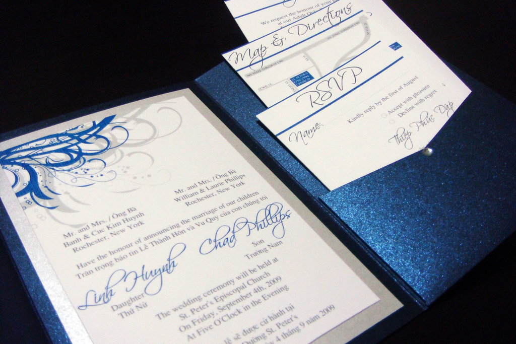 Royal Blue And Silver Quinceanera Invitations Best Printable