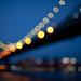 a blurry night in dumbo