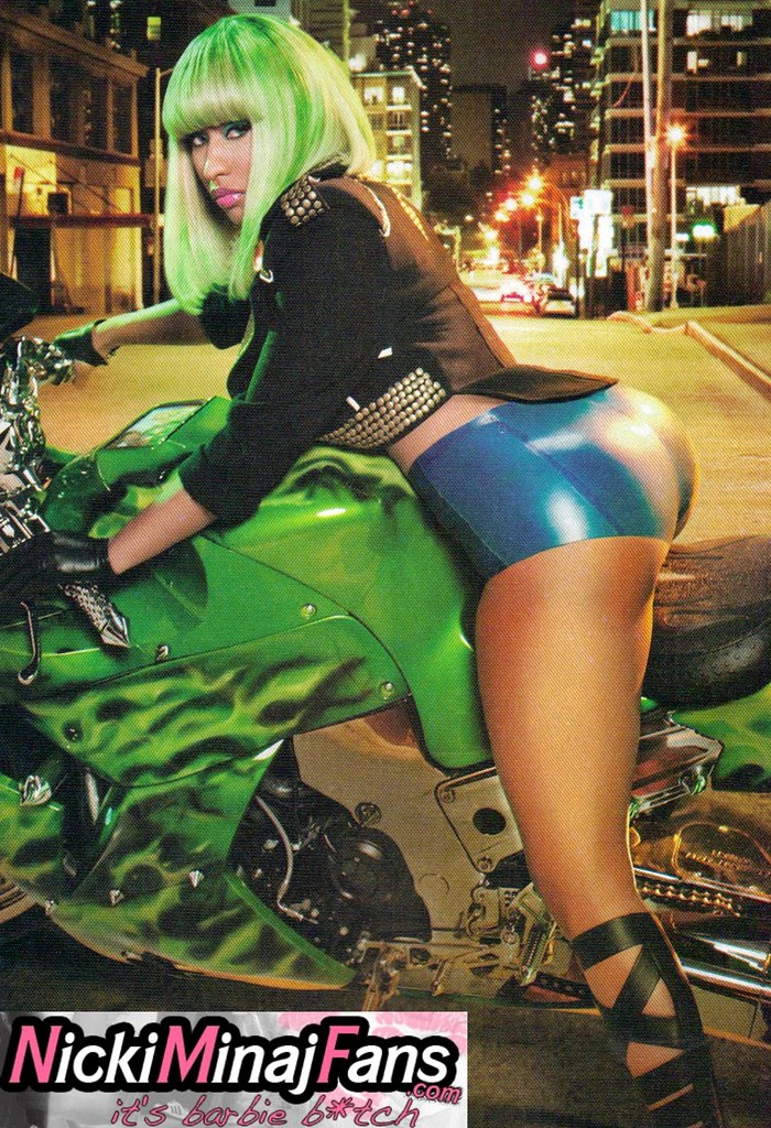 nicki minaj ass sitting on bike | BarbieStar Doll | Flickr: https://www.flickr.com/photos/barbiestardoll/5497756571/