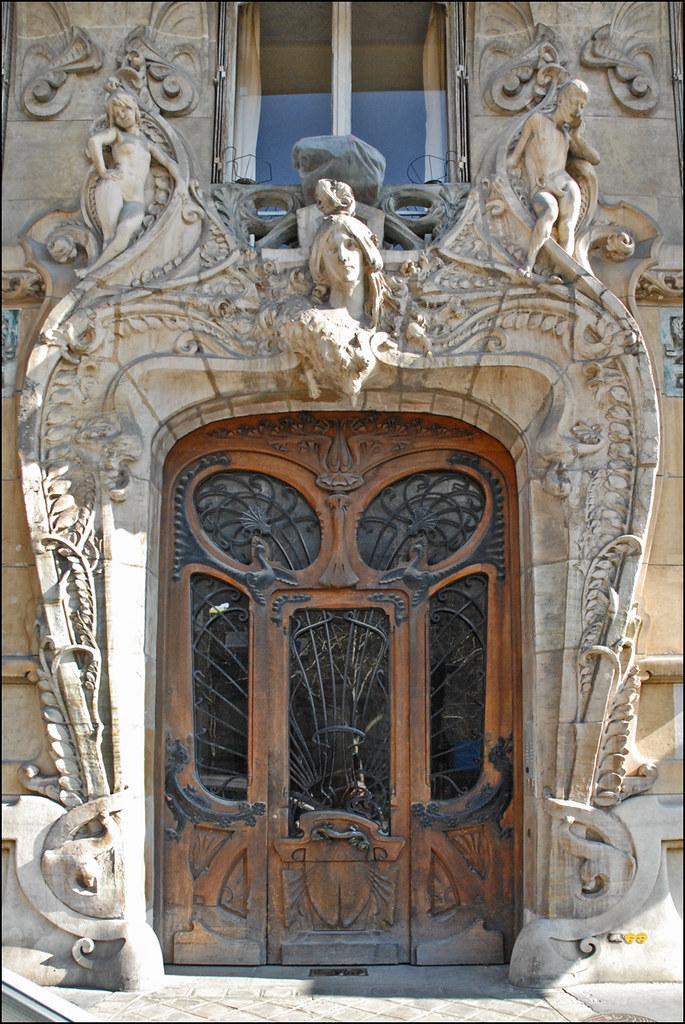 Immeuble art nouveau de jules lavirotte paris la porte - Art nouveau architecture de barcelone revisitee ...