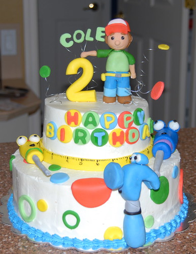 Handy Manny Birthday Cake Pan