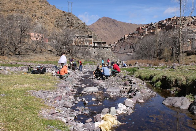 River Study Fieldwork above Imlil, Morocco