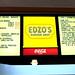 menu at Edzo's