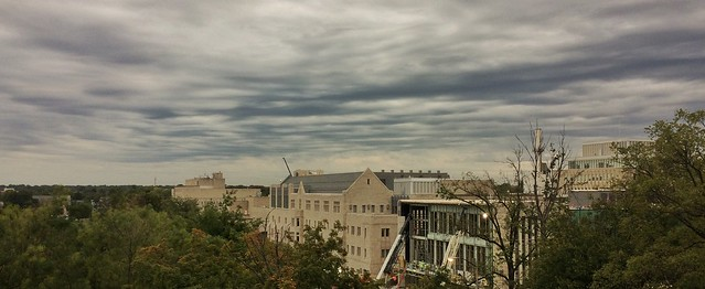 Clouds over IU