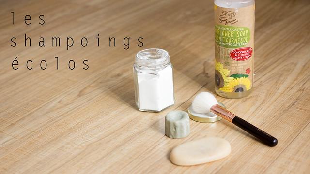 J'ai testé | Les shampoings écolos
