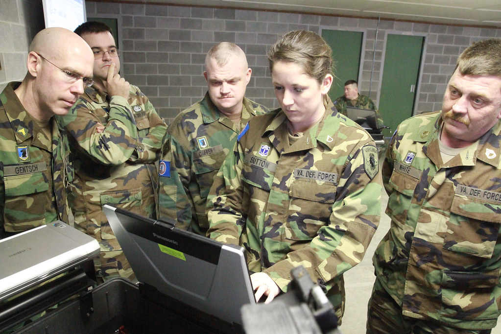 Virginia Defense Force : Virginia defense force personnel conduct incident manageme