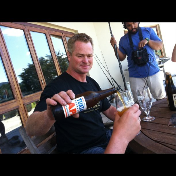 Craft Beer Pour Photo