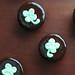 Thin Mint Shamrock Cupcakes