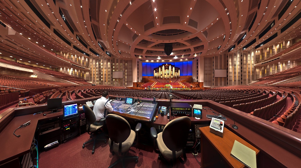 LDS Conference Center - Front of House   Interior of the