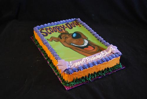 Pin Scooby Doo Birthday Cake Walmart Cake On Pinterest