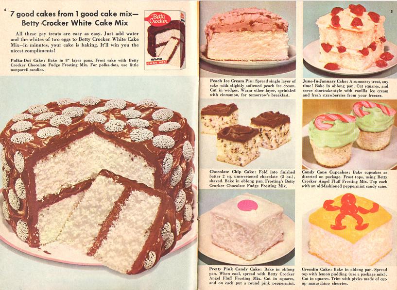 Desserts Betty Crocker Cake Mix