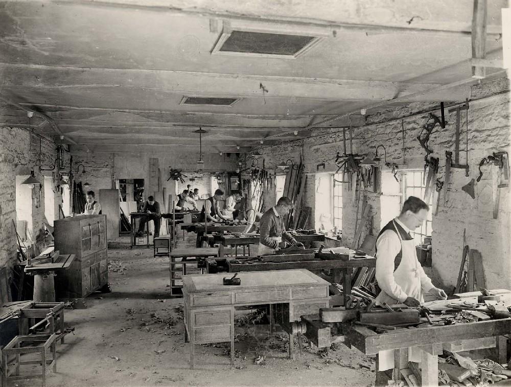 Peter Waals Workshop 1930s Economic Depression In