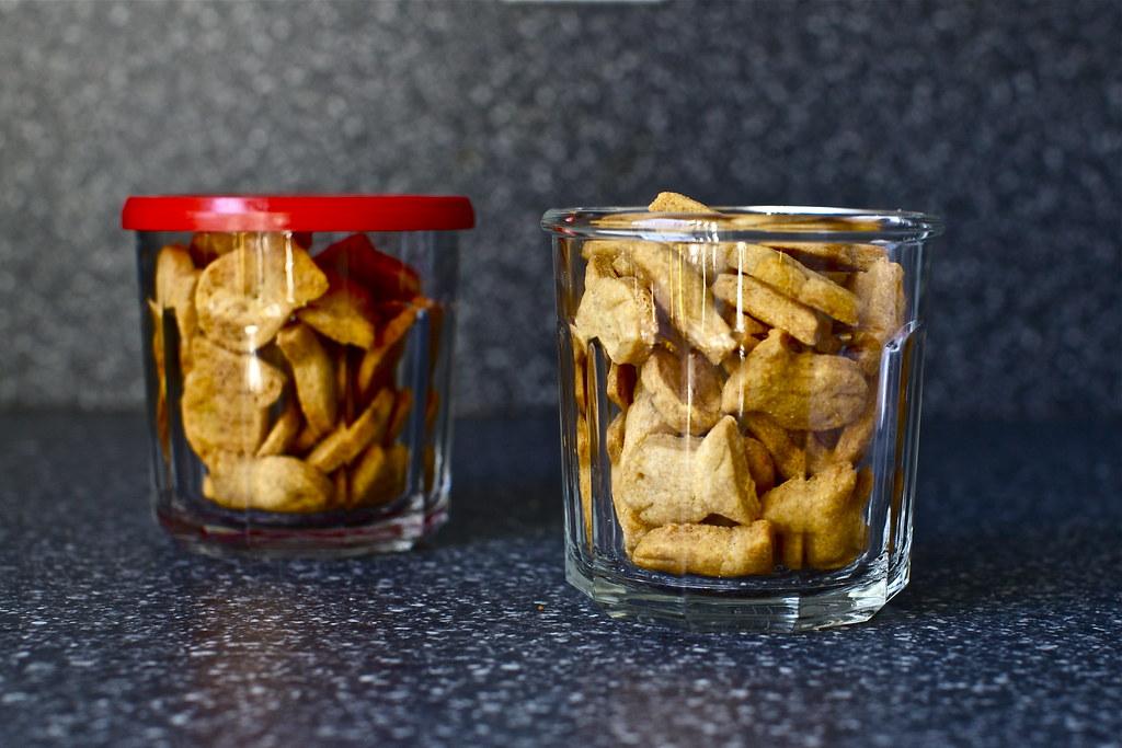 snack ready | Whole Wheat Goldfish Crackers on smittenkitche ...