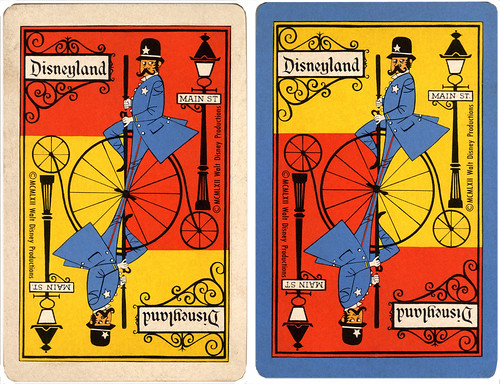 Disneyland Playing Cards, 1962 | by Miehana