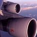 Air-India 747 over Ireland