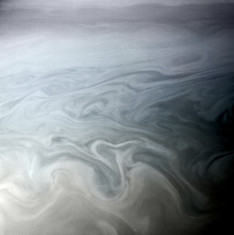 Storm Clouds On Saturn A Close Up Look At Saturn S