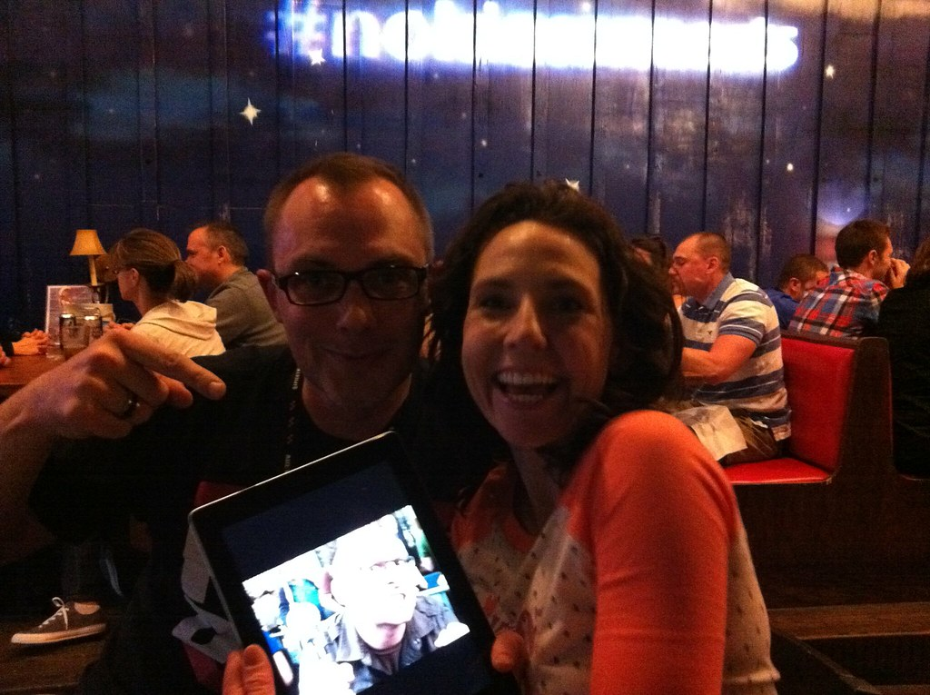 After The Ipad 2 Launch Austin Hanging Out With