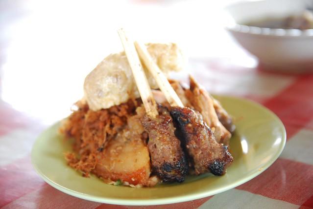 Satay, Pork Belly - Pork Lunch Set - Lawar Bali AUD30000   Flickr ...
