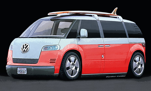 vw microbus  supposed   coming