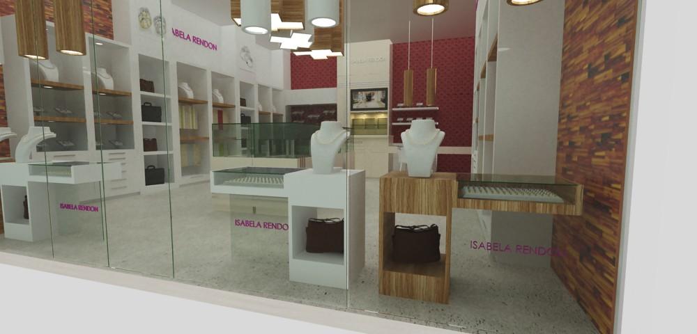 Tienda de joyas dise o de mobiliario exhibidores para jo for Mobiliario de diseno