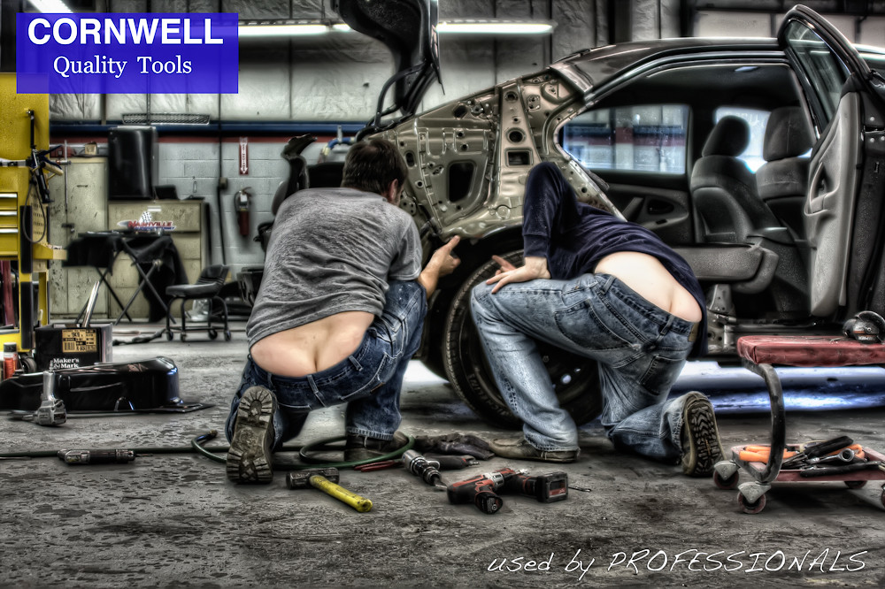 Cornwell tools : I was shooting some HDR shots at the shop ...