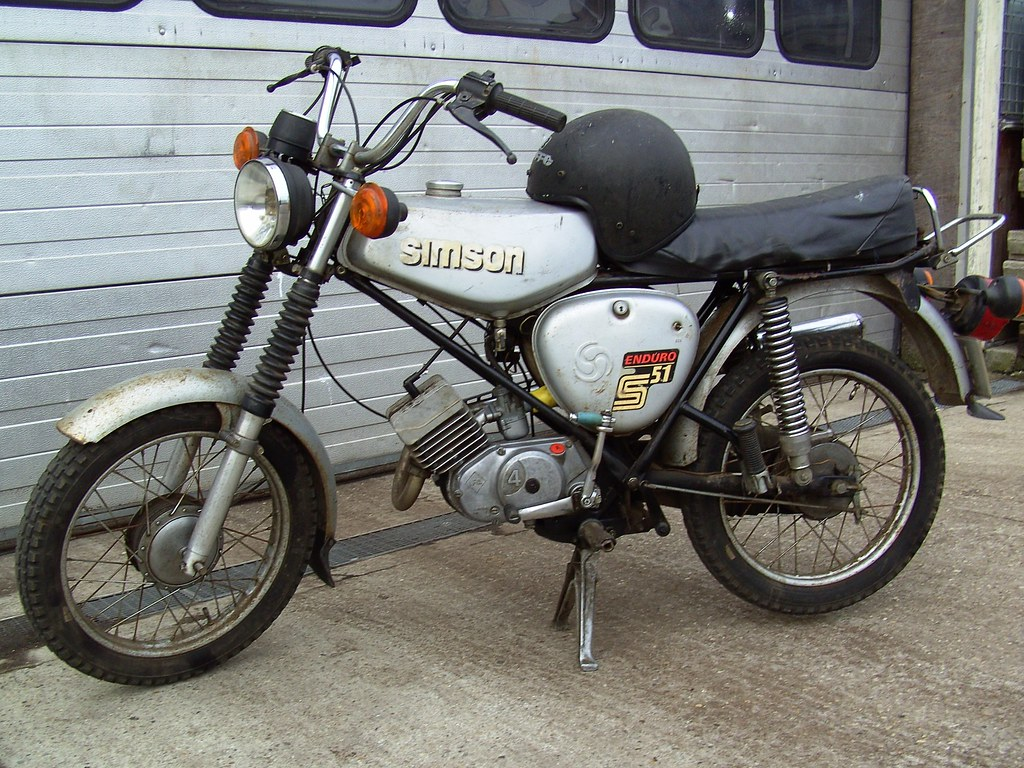 1987 simson enduro s51 1987 simson enduro s51 a motorcycl flickr. Black Bedroom Furniture Sets. Home Design Ideas