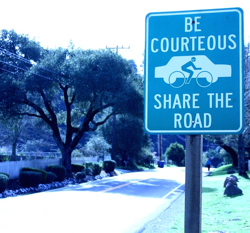 Share the Road sign | by Richard Masoner / Cyclelicious