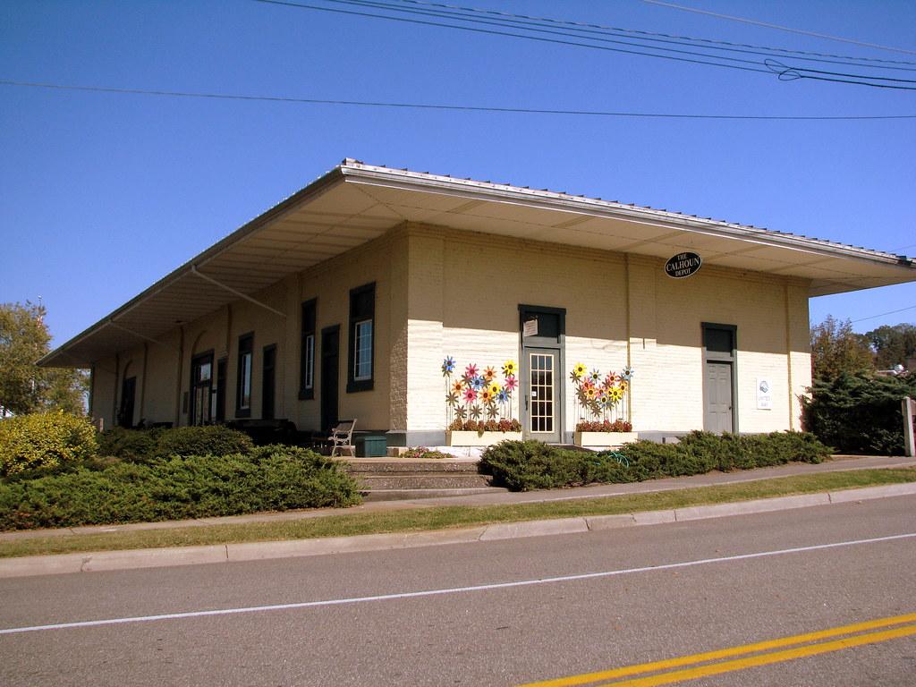 Calhoun GA 1853 Depot